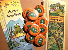 Bookmarks and buttons!