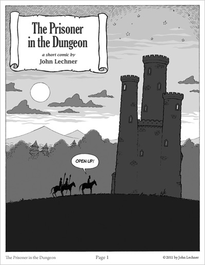 The Prisoner in the Dungeon, a short comic by John Lechner