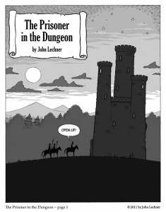 The Prisoner in the Dungeon - Page 1