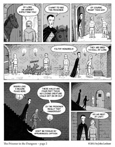 The Prisoner in the Dungeon - Page 2