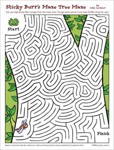 Sticky Burr Maze Tree Maze