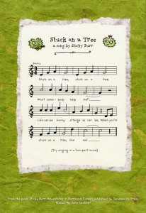Stuck On A Tree music