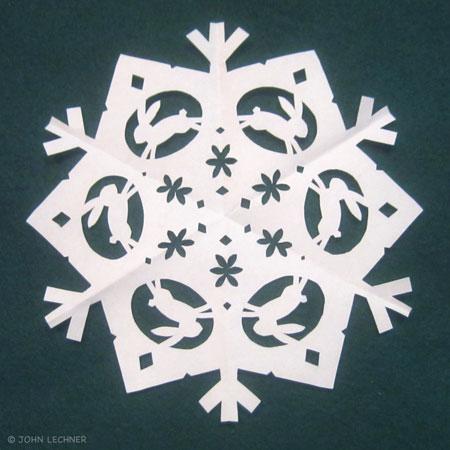 Bunny Snowflake