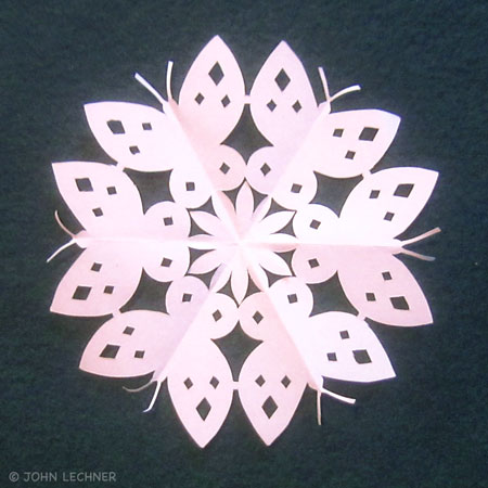 Butterfly Snowflake