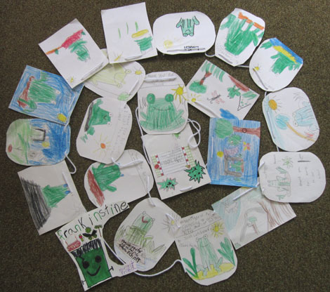Letters from first graders to John Lechner