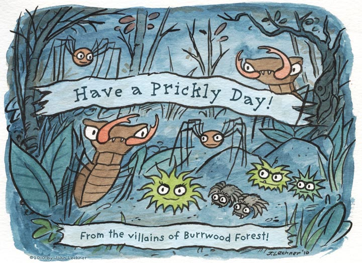 Have a Prickly Day! From the Villains of Burrwood Forest