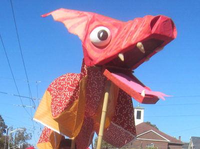Giant Dragon Puppet