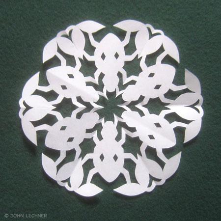 Beetle Snowflake