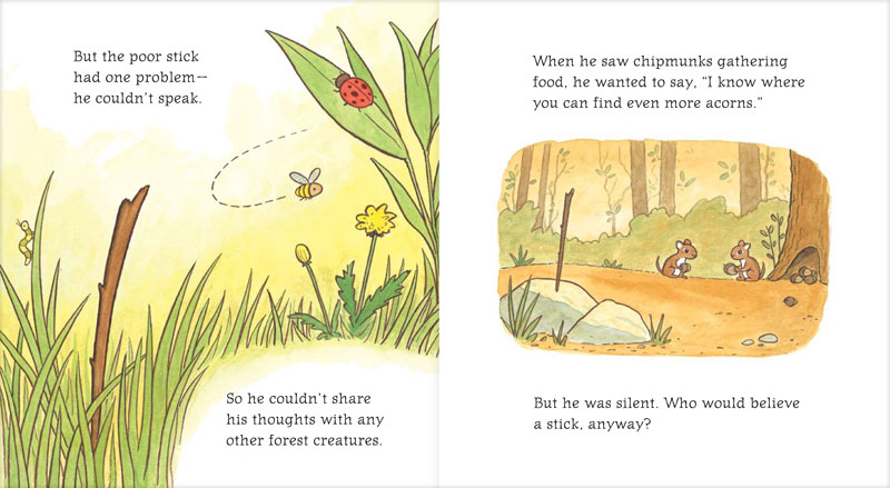 Pages from The Clever Stick by John Lechner