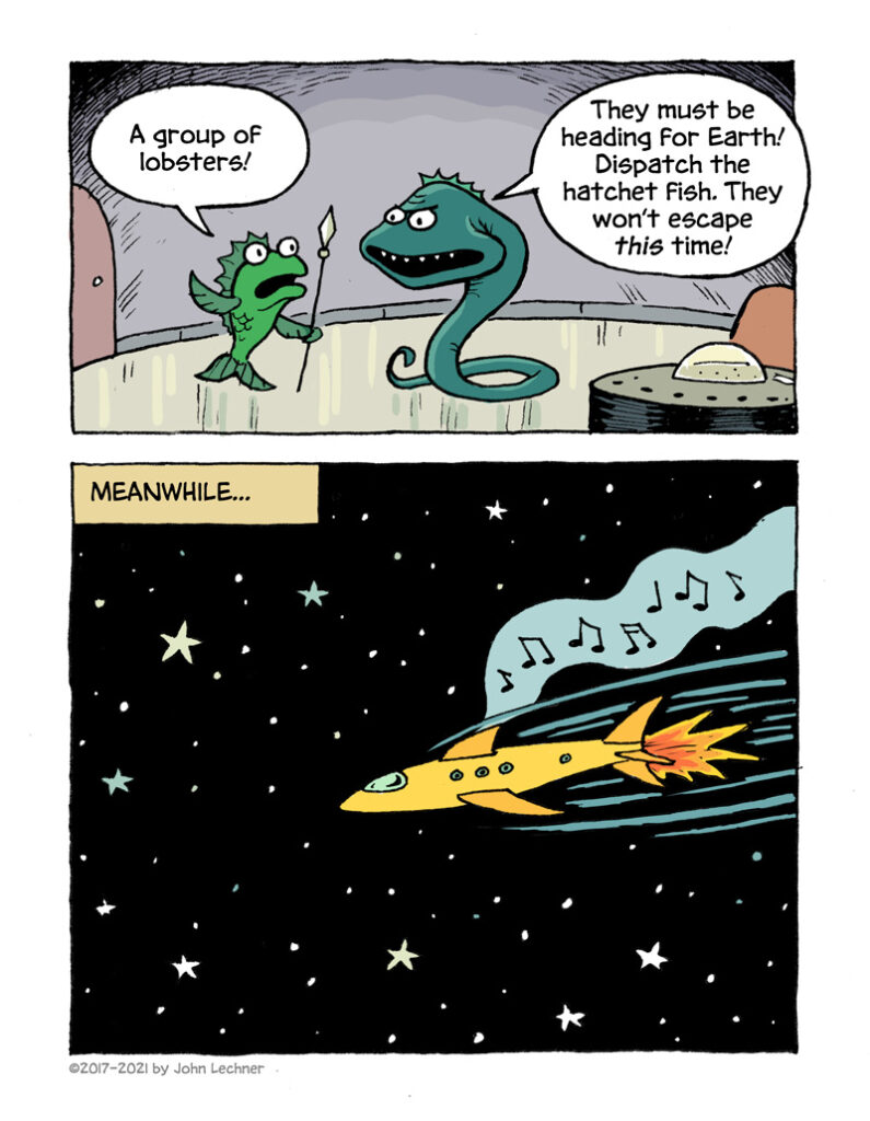 Cosmic Lobsters - page 2
