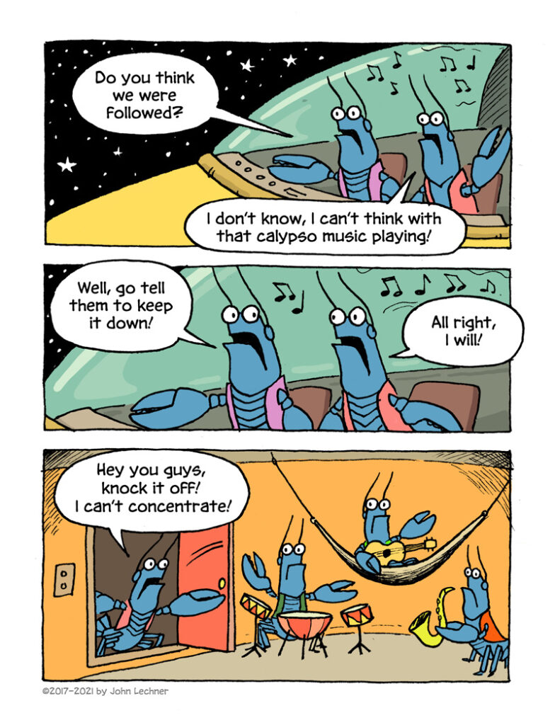 Cosmic Lobsters - page 3