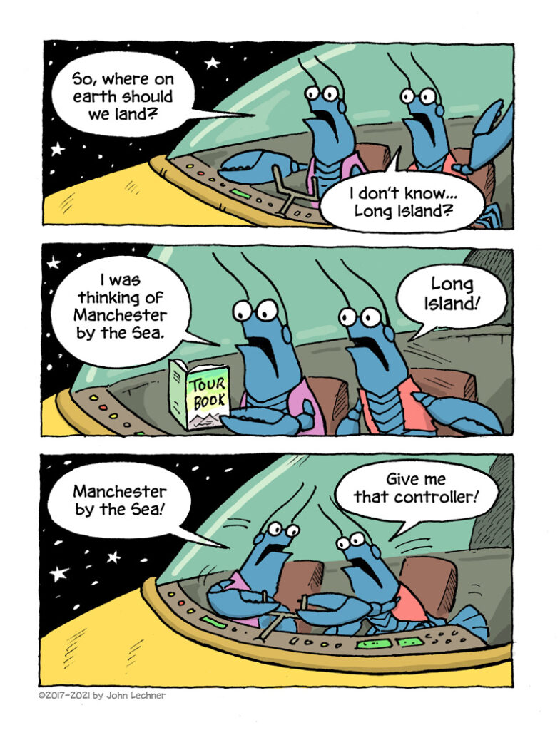 Cosmic Lobsters - page 4